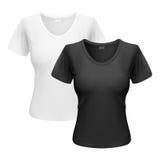 Frauent-shirt Lizenzfreies Stockbild