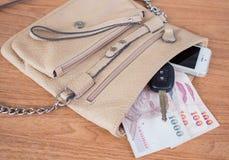 Frauentasche Stockfotografie