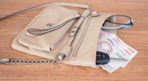 Frauentasche Lizenzfreies Stockfoto