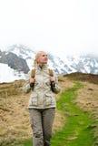 Frauentourist Stockfoto