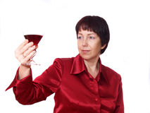 Frauentrinken Lizenzfreie Stockbilder