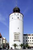 Frauenturm av Goerlitz i Tyskland Arkivbilder