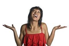 Frauenunschuldig Lizenzfreie Stockfotos