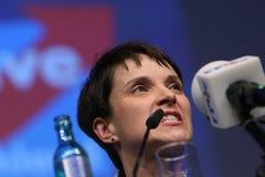 Frauke Petry, der deutschen rechten Partei AFD Lizenzfreie Stockfotos