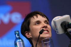 Frauke Petry, of the German Rightwing Party AFD Royalty Free Stock Photos