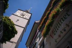 Fraumà ¼ nster教会的塔 免版税库存照片