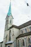 Fraumuenster Cathedral in Zurich Royalty Free Stock Image