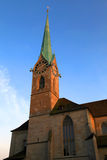 Fraumuenster church in Zurich, Switzerland. Royalty Free Stock Photos