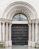 Церковь Цюриха Швейцарии Fraumunster Стоковое фото RF