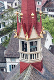 Fraumunster Bell Tower Zurich Switzerland Royalty Free Stock Photo