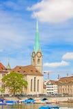 Fraumunster, Zurich Foto de archivo libre de regalías