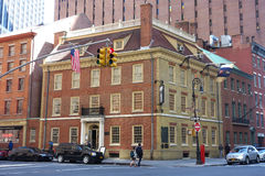 Fraunces Tavern in New York City Royalty Free Stock Images