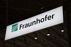 Fraunhofer bokstäver Arkivbilder