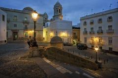 Fray Felix Square Cadiz Spain Stock Photo