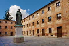 Fray Luis de Leon and University of Salamanca Royalty Free Stock Photos