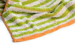 Frayed Colorful Towel Royalty Free Stock Images