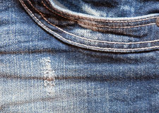 Frayed Denim Stock Images