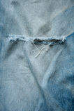 Frayed Jeans Royalty Free Stock Image