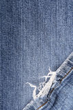 Frayed jeans texture for background Royalty Free Stock Image