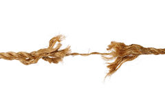 Frayed Rope Royalty Free Stock Photos
