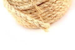 Frayed rope Royalty Free Stock Image