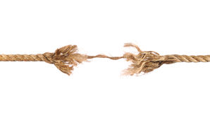 Frayed Rope Stock Photography