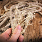 Frayed Rope Royalty Free Stock Photo