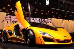 Frazer-Nash bij de Show van de Motor 2010, Genève Stock Foto's