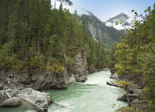 Frazer river in british columbia Royalty Free Stock Images