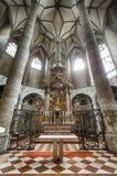 Fraziskanerkirche в Зальцбурге стоковая фотография rf