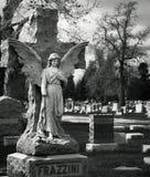 Frazzini ängel över grav Arkivbilder