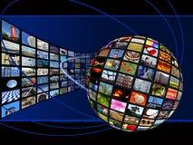 förbinda som är globalt Royaltyfri Bild