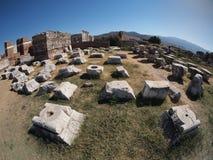 Fördärvar av Ephesus Turkiet Royaltyfri Foto