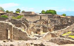 Fördärvar av Pompeii Arkivbild