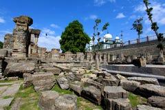 fördärvar tempelet Arkivbild