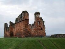 fördärvat slott Royaltyfria Foton