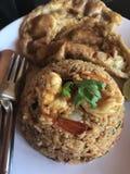 Freír-arroz del Tom-ñame fotos de archivo libres de regalías