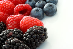 Freah Berries Royalty Free Stock Photography