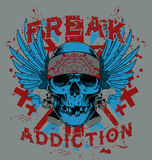 Freak addiction Royalty Free Stock Photos