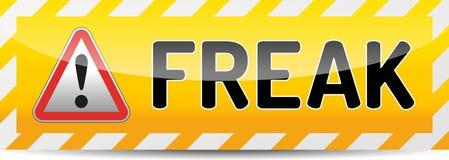 FREAK - Factoring RSA Export Keys Security attack warning banner royalty free stock photo
