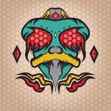 Freak Fly Monster Illustration Royalty Free Stock Images