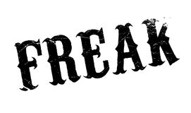 Freak rubber stamp Royalty Free Stock Image