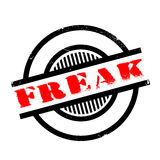 Freak rubber stamp Stock Images