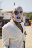 Freakish character outside Germany pavilion at Expo 2015 in Mila Stock Photo