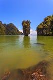 Freakish islands Stock Photo