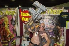 Freakshowvechter Stock Fotografie