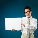 Freaky manager Stock Photo