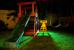 Freaky Swingset Royalty Free Stock Photo