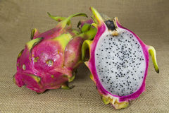 Freash Dragon Fruit Royalty Free Stock Images