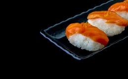 Freash salmon Sushi Stock Image